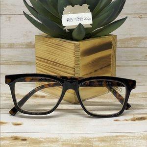 Franco Sarto Reading Glasses Brown/Tortoise 2.00